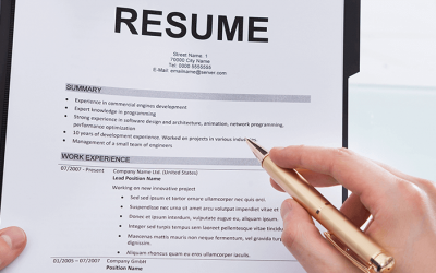 How to write a short and successful CV or Resume