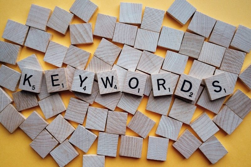 searching keywords