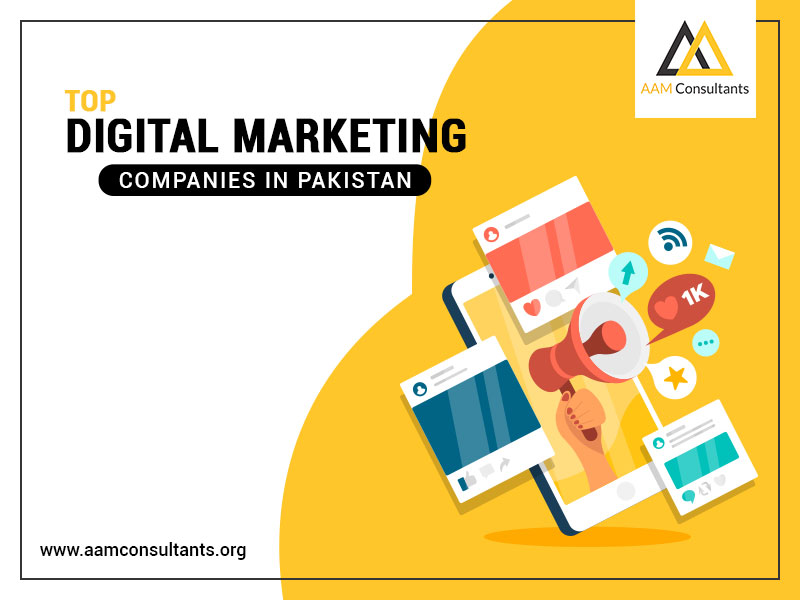Top Digital Marketing Companies in Pakistan
