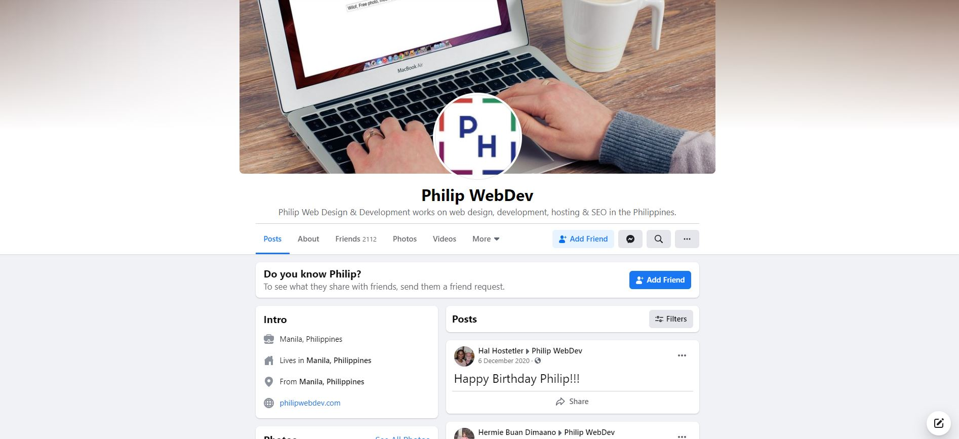 Philip Web Design And Website Development