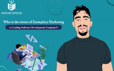 Who is the owner of Exemplary Marketing (a Leading Software Development Company)?