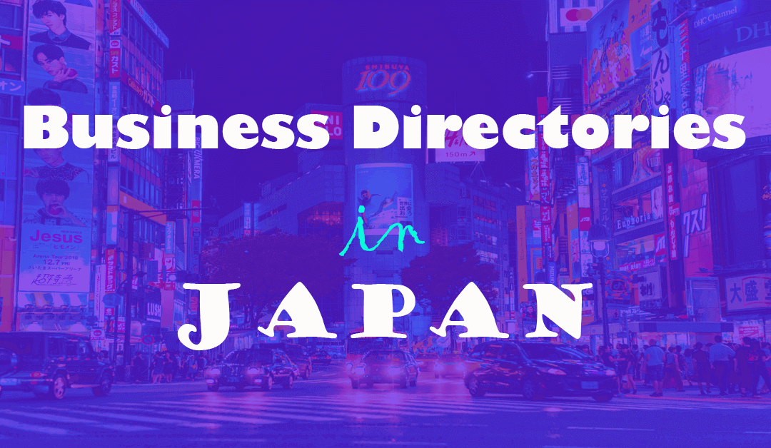 Top Business Directories or Listing Sites in Japan